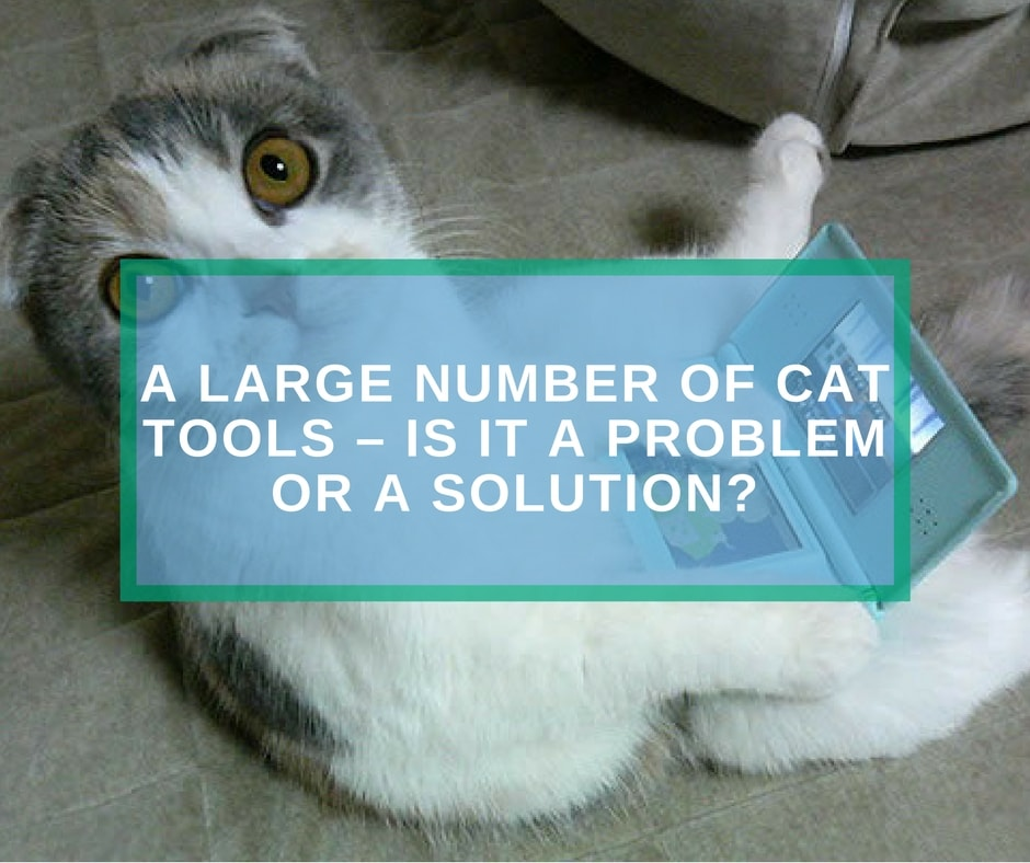 Large number of CAT tools – is it a problem or a solution?